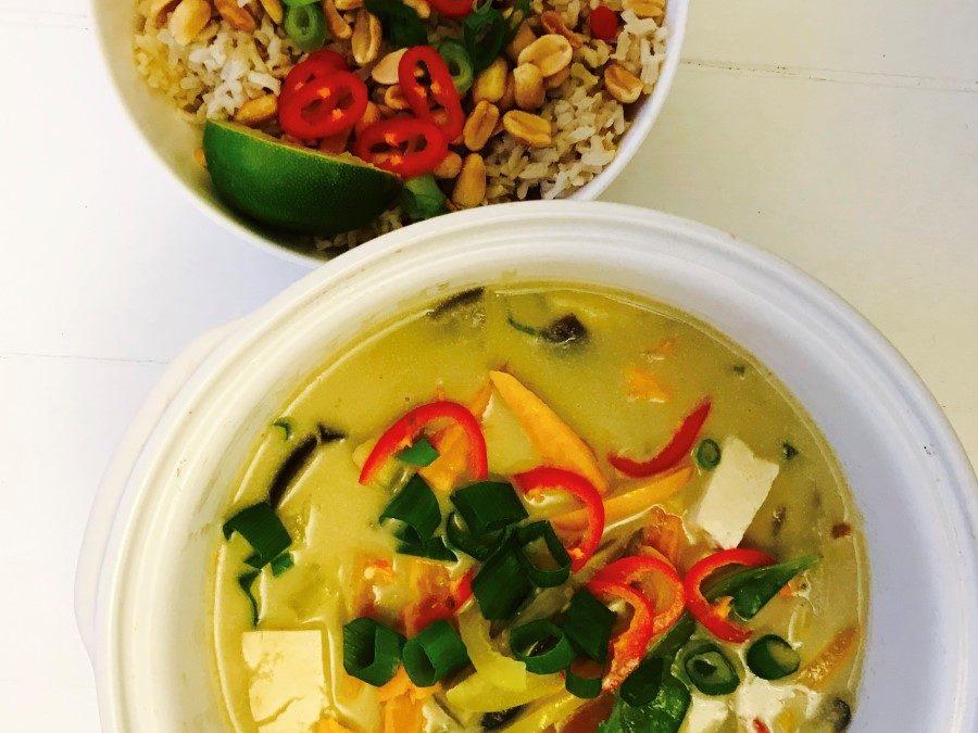 Lizzie's Thai Green Goodness Vegan Curry